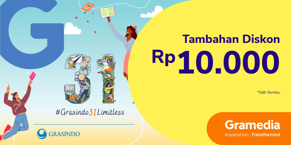 Gambar promo Tambahan Diskon Rp10.000 Buku Terbitan Grasindo dari Gramedia